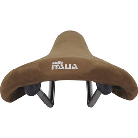 Selle Italia Flite 1990 Nubuk Satula , ruskea